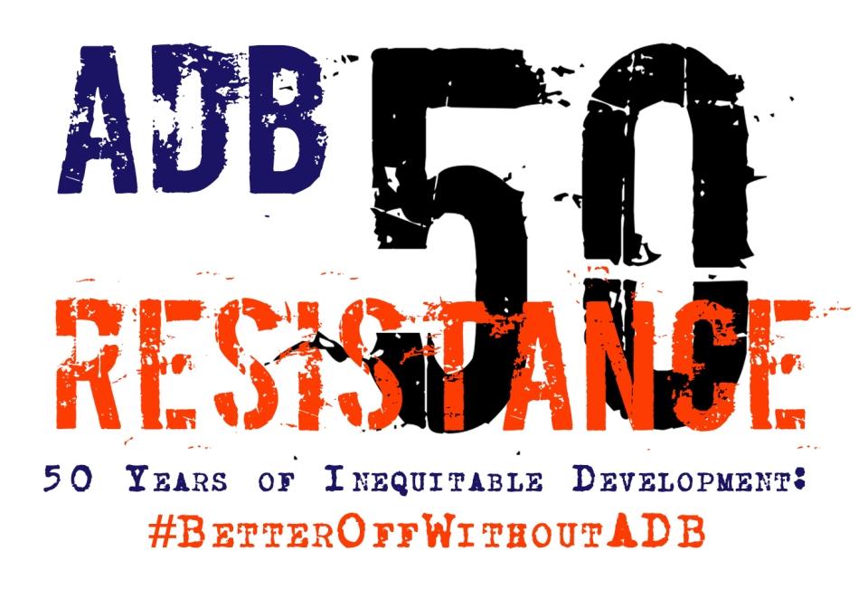 ADB at 50 Logo